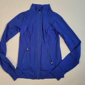 Reva blue running  jacket  size small